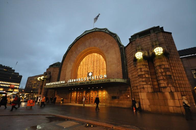 Helsinki Railway Station, modern building
