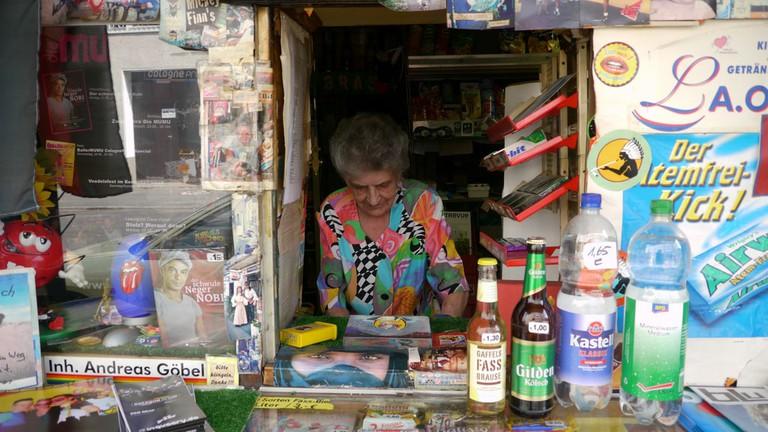 A kiosk in Cologne