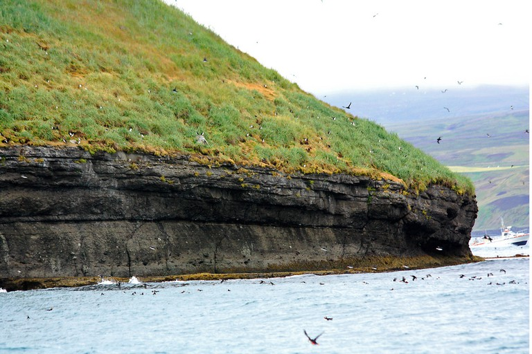Lundey (puffin island) near Húsavík | © Andrea Schaffer/Flickr