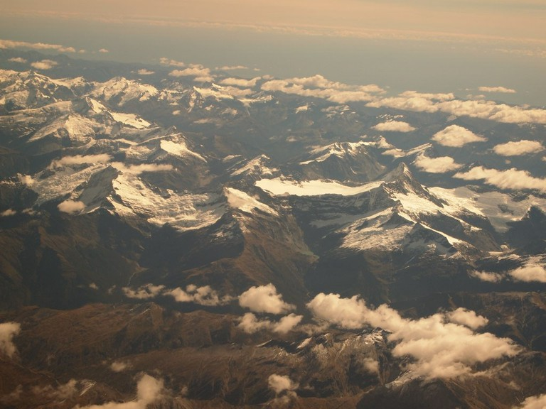 Mount Aspiring From Above