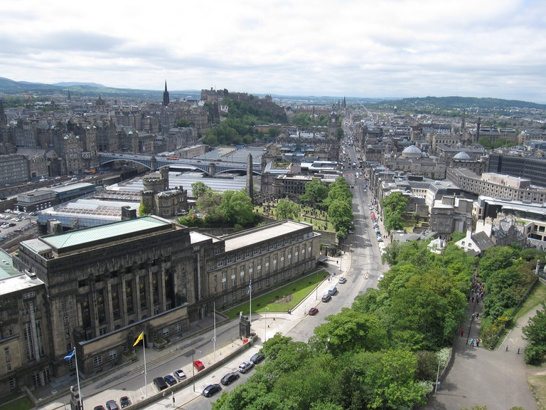 Edinburgh From Calton Hill c.2011 | © Bernt Rostad/Flickr