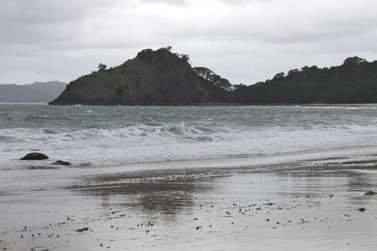 Cloudy Day At New Chums Beach, Coromandel