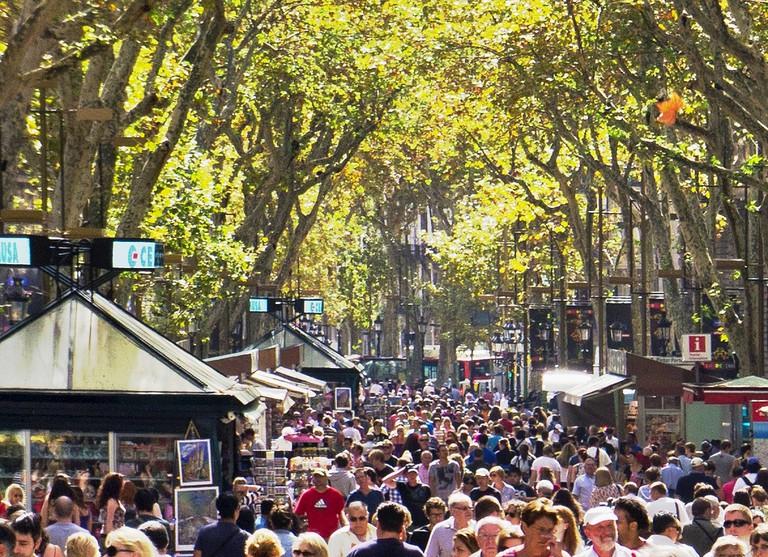 La Rambla in Barcelona © Richardjo53