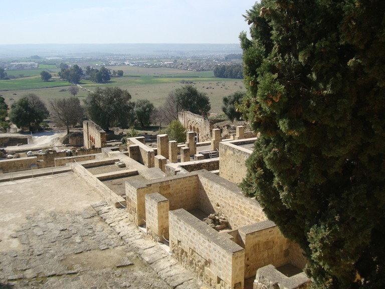 View from the top level of Medina Azahara