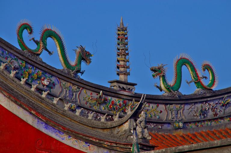 Dragons at Confucian Temple