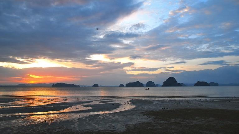 Deserted Tub Kaek Beach