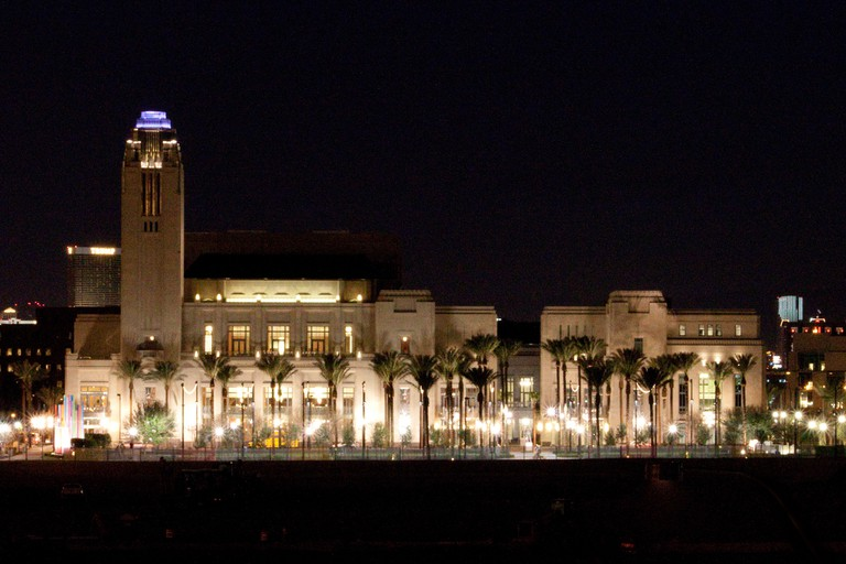 The Smith Center is the centerpiece of Symphony Park | © Kimberly Reinhart/Flickr