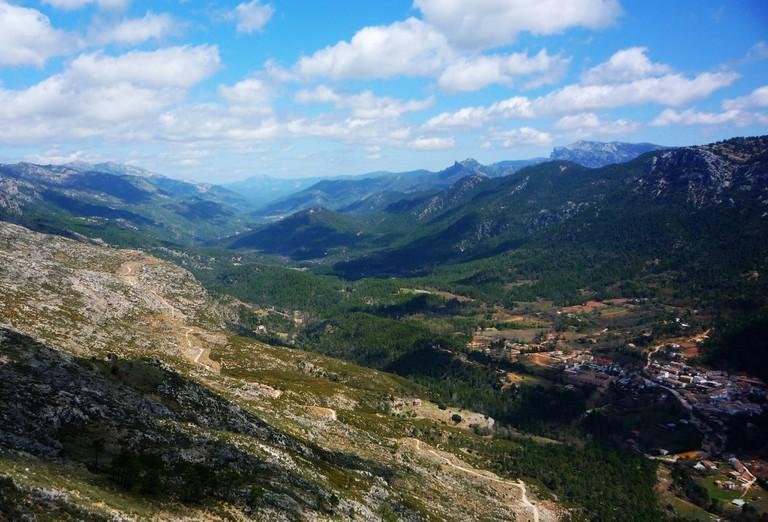 Salvador Compán's Travel Notebook is set in the Sierra Cazorla mountains   © Martin Haisch / Flickr