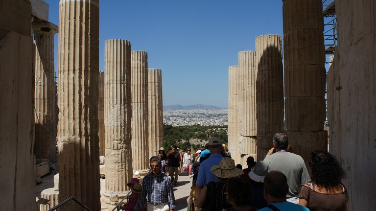 Propylaea, Acropolis, Athens