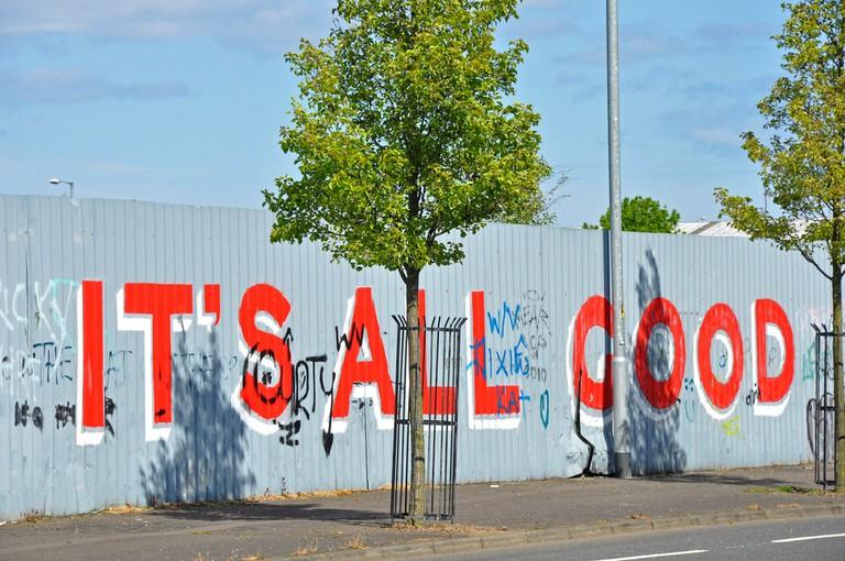 Graffiti on the Shankill Road