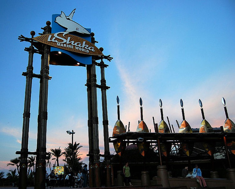 Ushaka Marine World in Durban has the fifth largest aquarium in the world