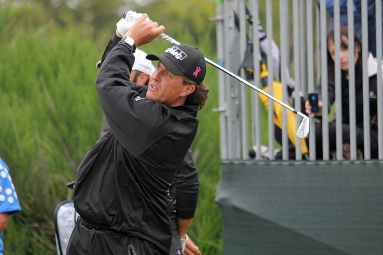 "Phil Mickelson aka ""Lefty"""