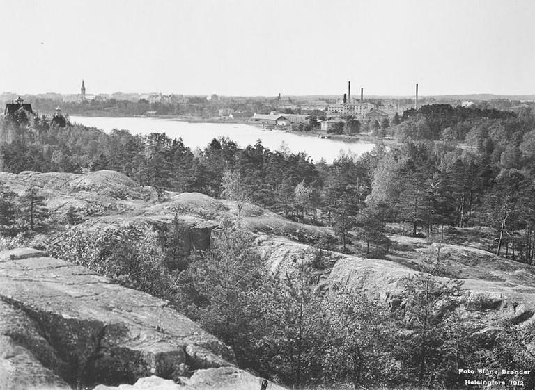 Töölönlahti Bay, 1912