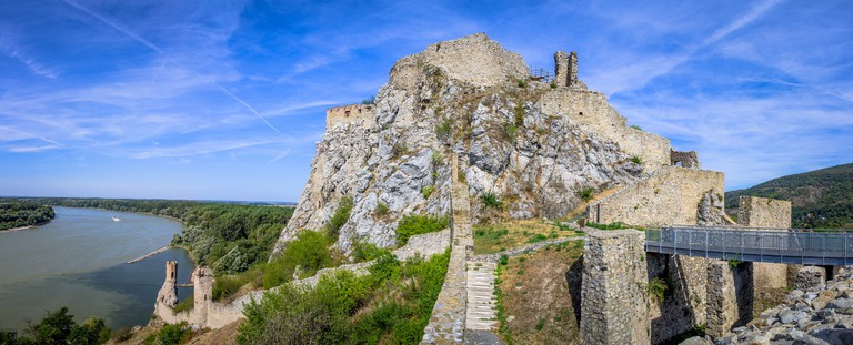 Slovakia has a long history of international trade, dating back to medieval times when the castle fortress at Devin was a major stop on a popular trading route.