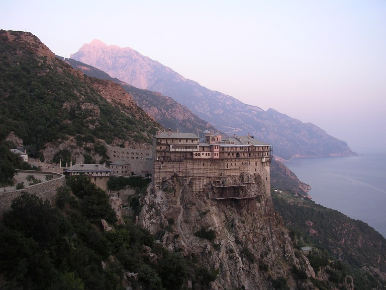 The Holy Mount Athos