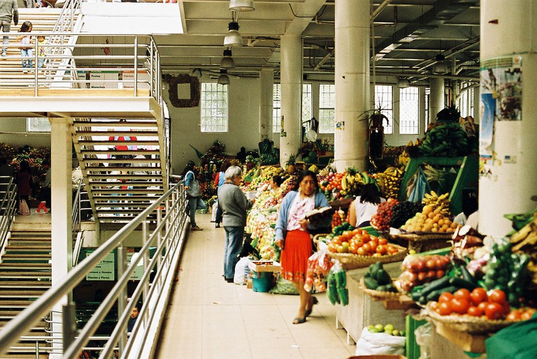 Market in Cuenca