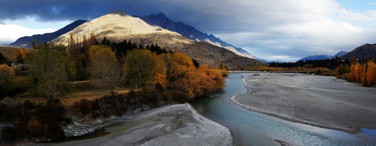 Shotover River, Otago, in Autumn