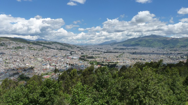 View from the Panecillo, Quito