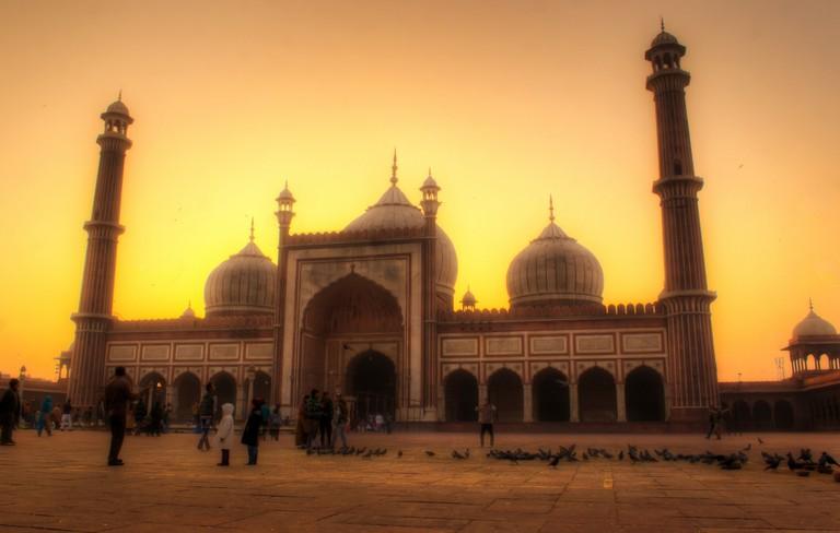 Jama Masjid, Old Delhi | © Rajarshi MITRA / Flickr