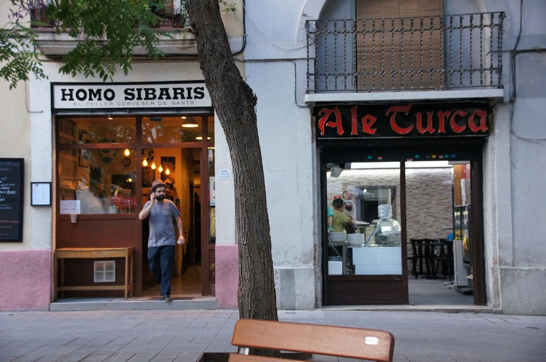 Homo Sibaris bar in Sants