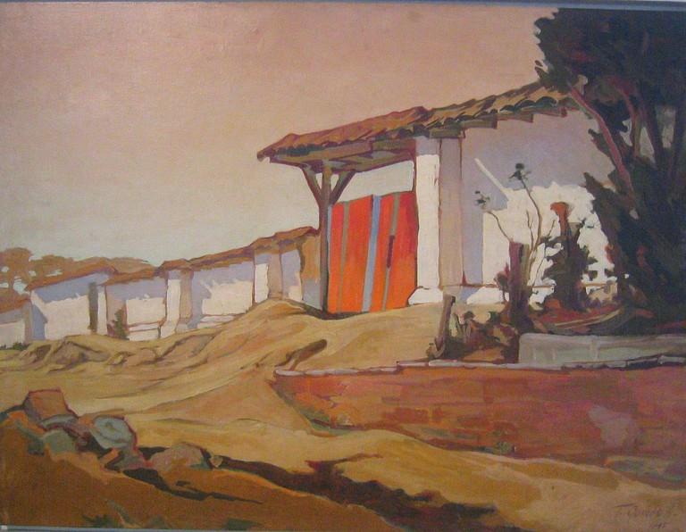 El Porton Rojo by Teodorico Quiros