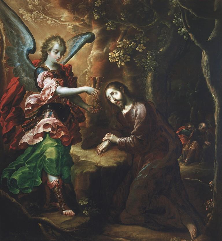 Cristóbal de Villalpando, The Agony in the Garden, ca. 1670–79 | Col. Museo de El Carmen, INAH Mexico City, Mexico.