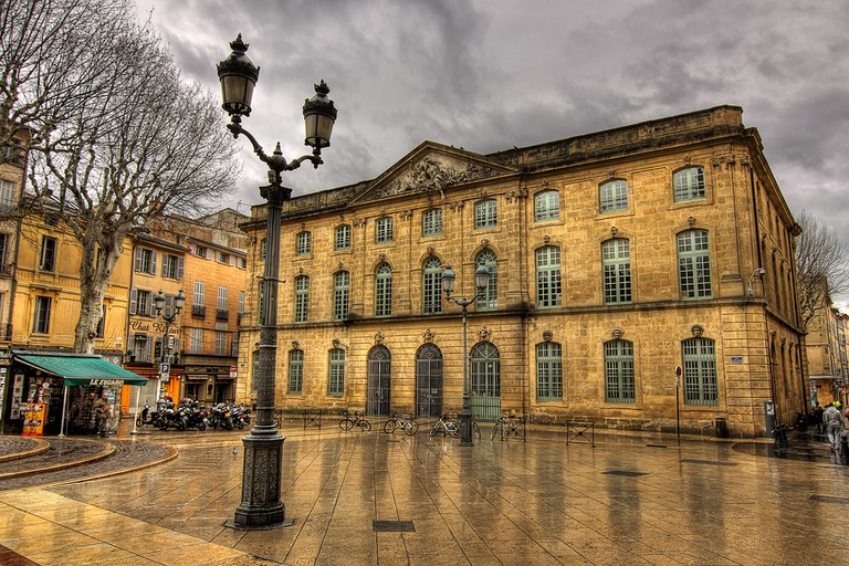 Aix's streets are always very clean