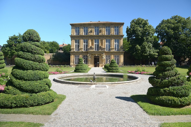 The grandeur of Aix is on display throughout the city