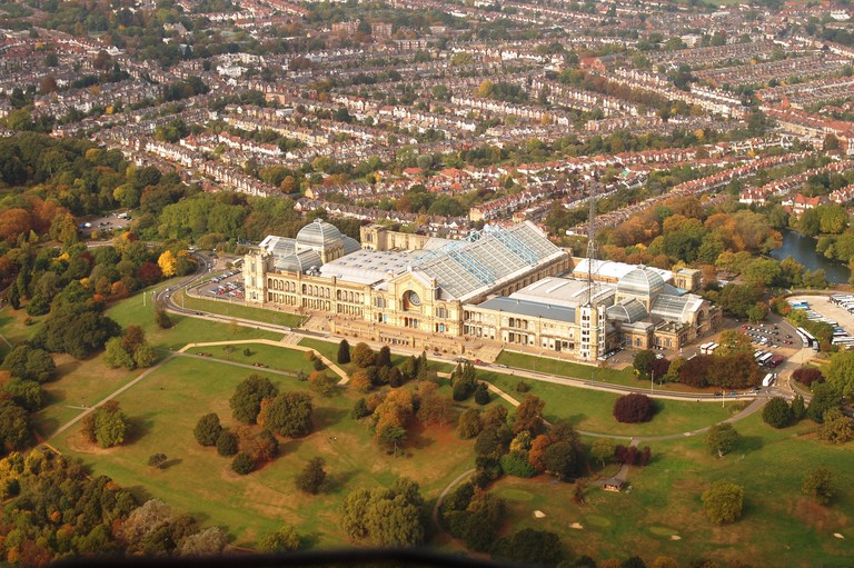 Alexandra Palace from the air