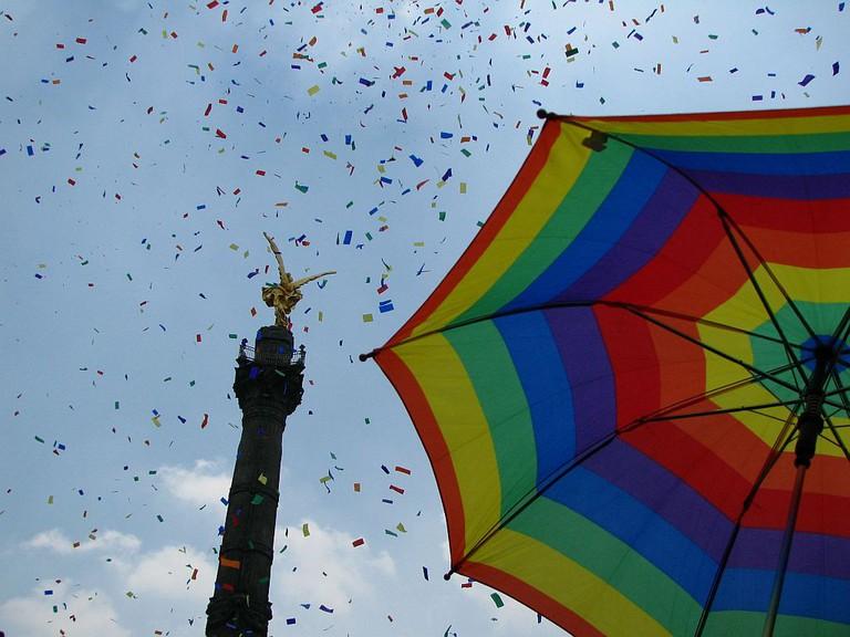 Marcha del orgullo Lesbico, Gay, Transexual y Travesti. / LGBT Pride ParadeMexico D.F.