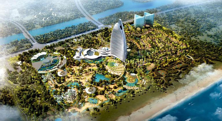 Atlantis Sanya. Photo: Courtesy of Kerzner International.