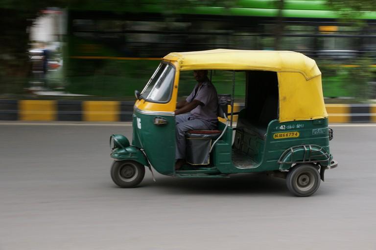 Auto-rickshaw in India