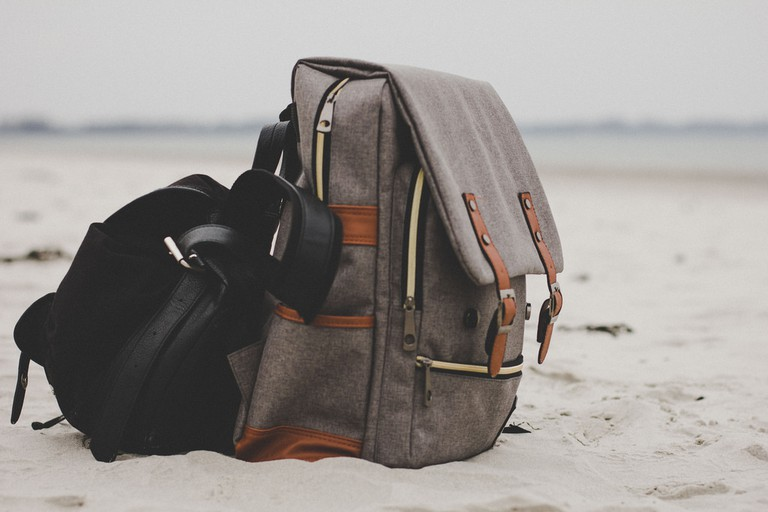 Keep your belongings with you at all times while travelling