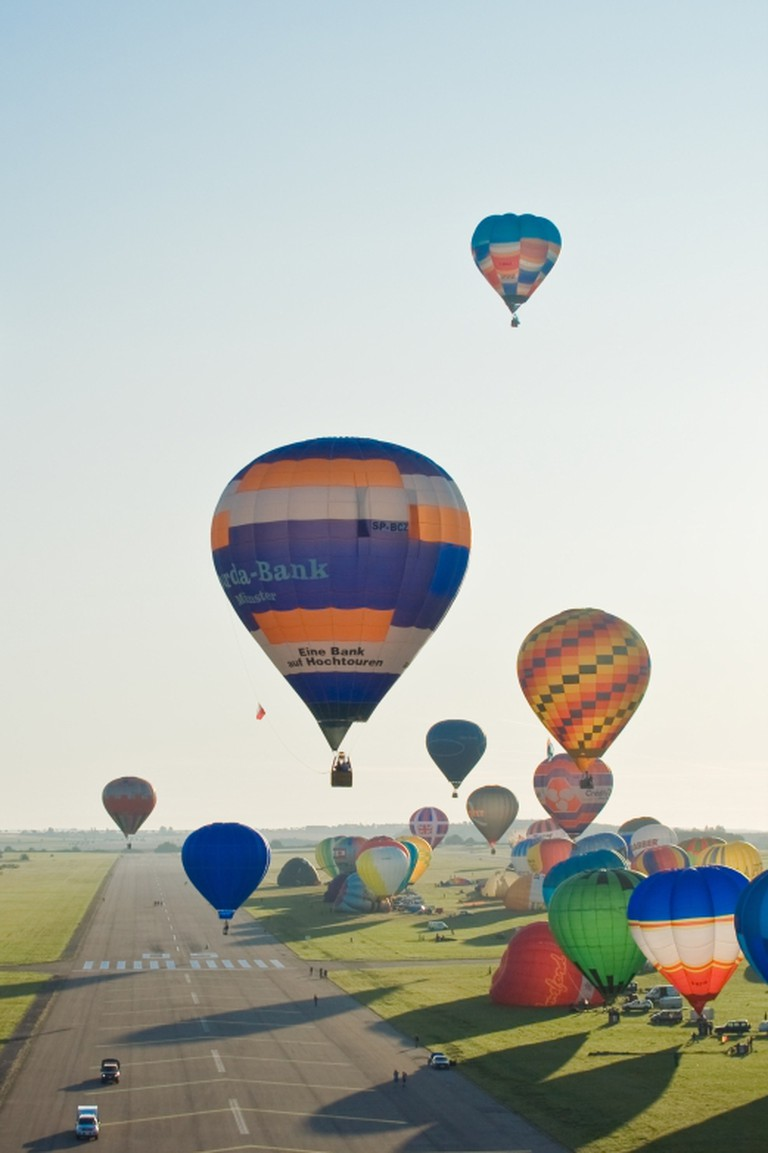 Balloons in France