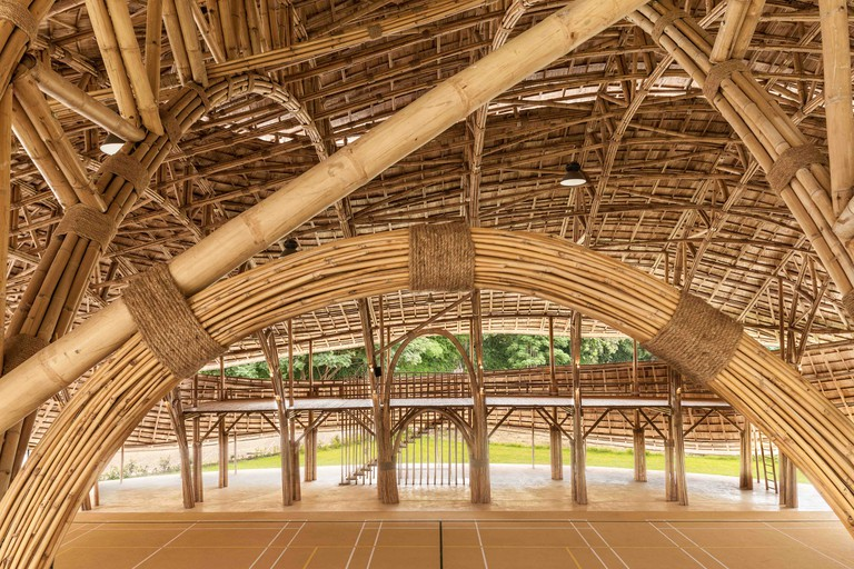 Bamboo Sports Hall at Panyaden International School