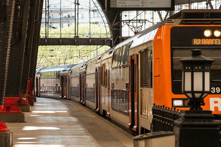 Barcelona train