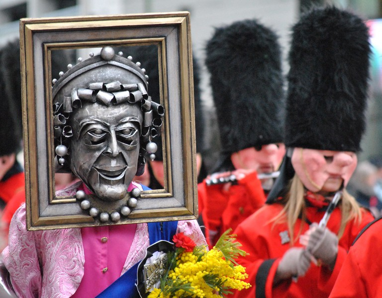 The people of Basel show off their sense of humour at the Fasnacht carnival