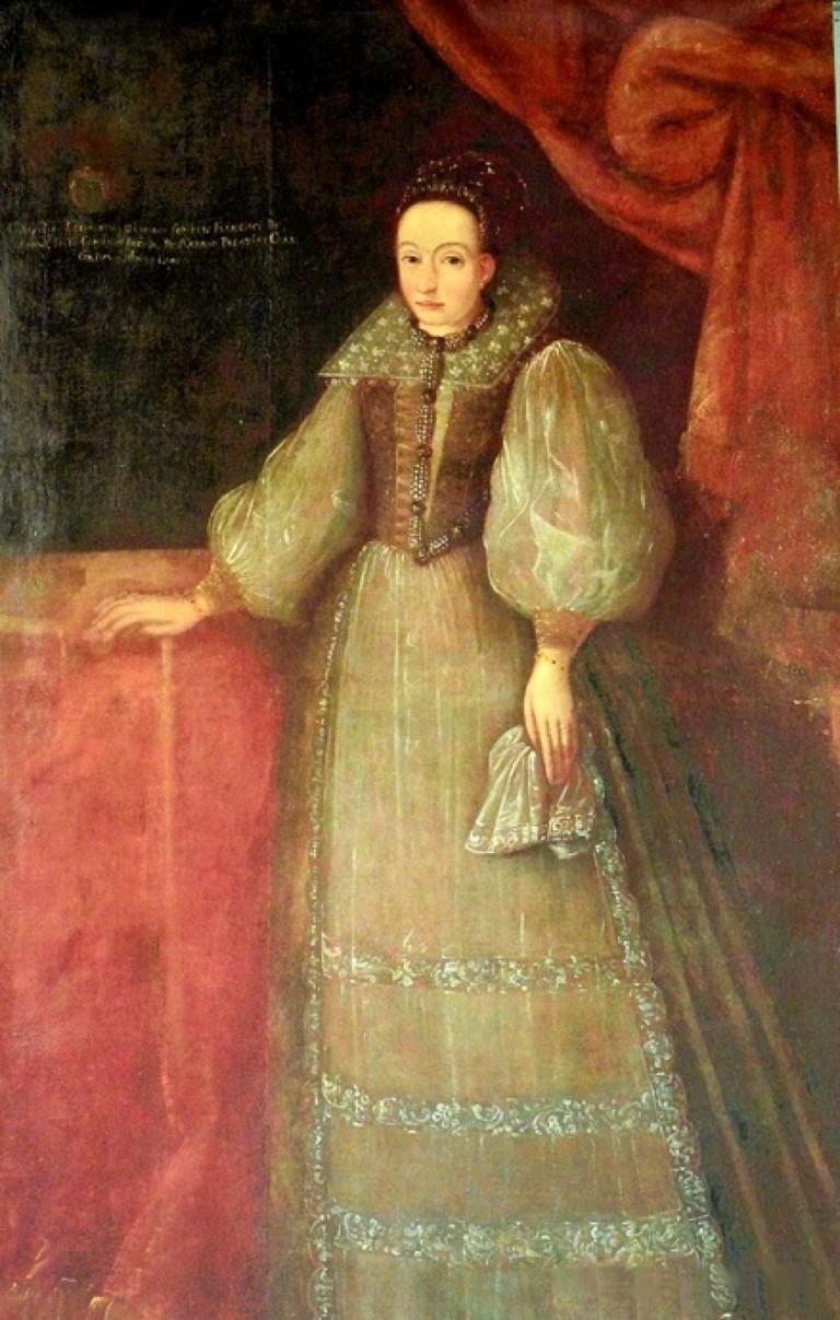 A portrait of Elizabeth Báthory