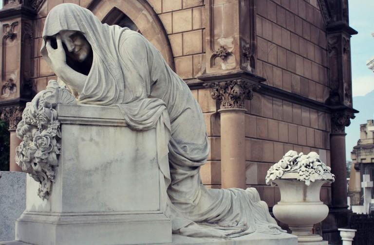 Statue of la Llorona