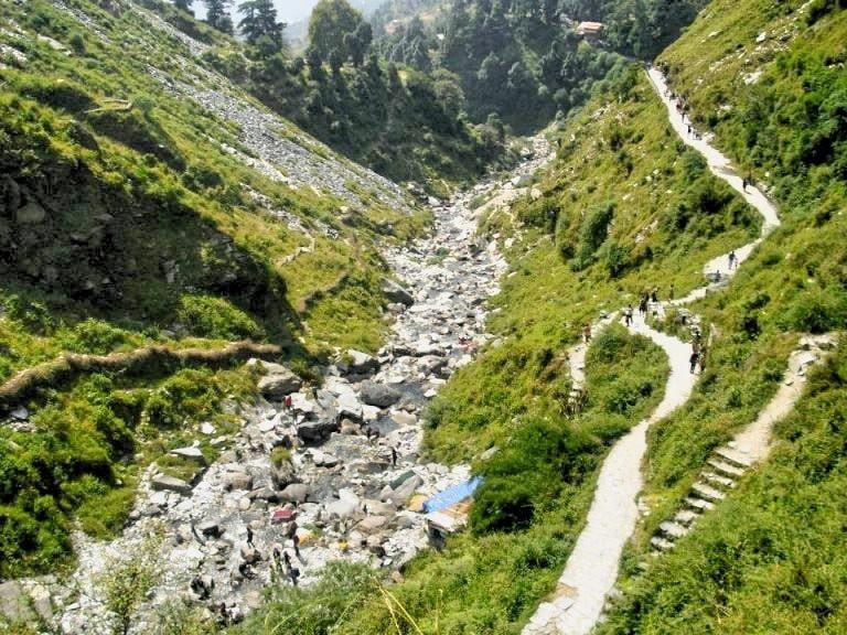 Trek to Bhagsu Falls © Poonam Binayak