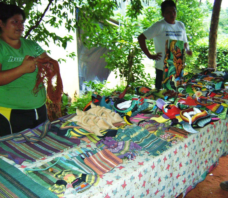 Boruca arts and crafts
