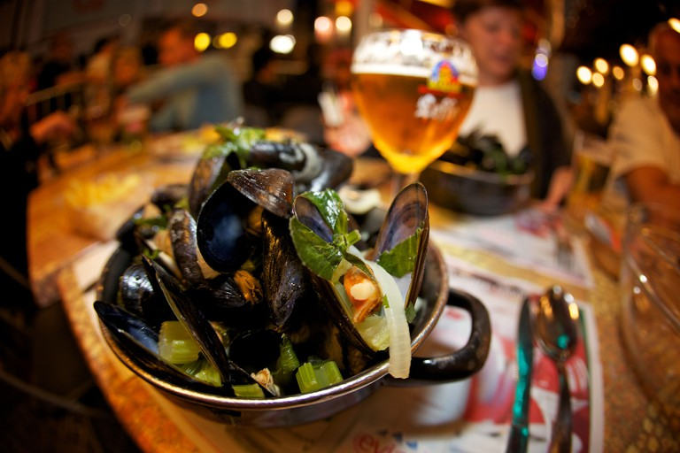 Mussels and chips!