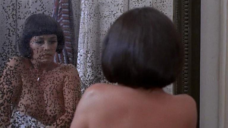 Moreau as Julie Kohle in Truffaut's 'The Bride Wore Black'   © United Artists
