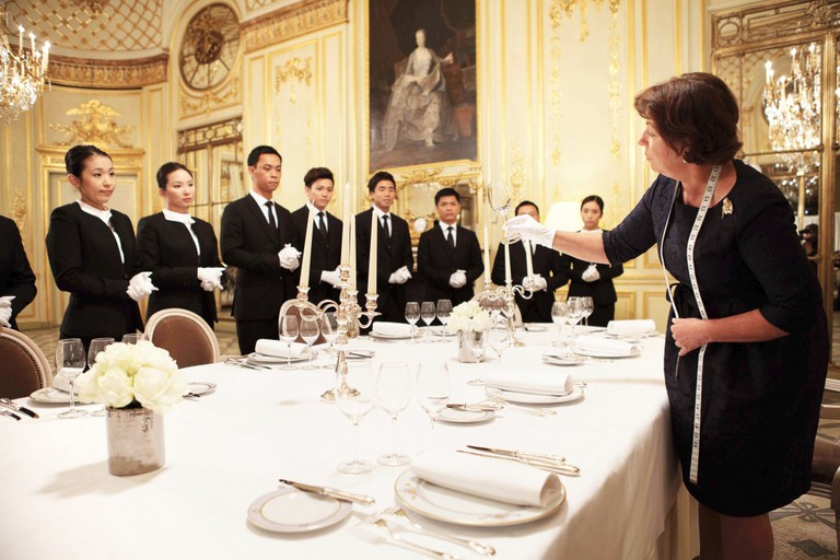 Every butler at The 13 has been trained by the prestigious MCM Palace Consultants in Paris and certified by the English Guild of Butlers I Courtesy of The 13 Holdings Ltd