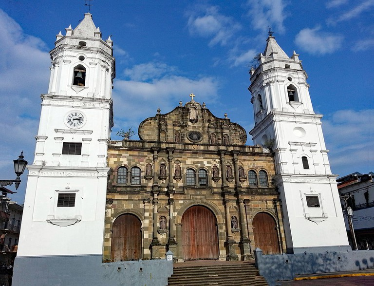 The Cathedral in Casco Viejo, Panama