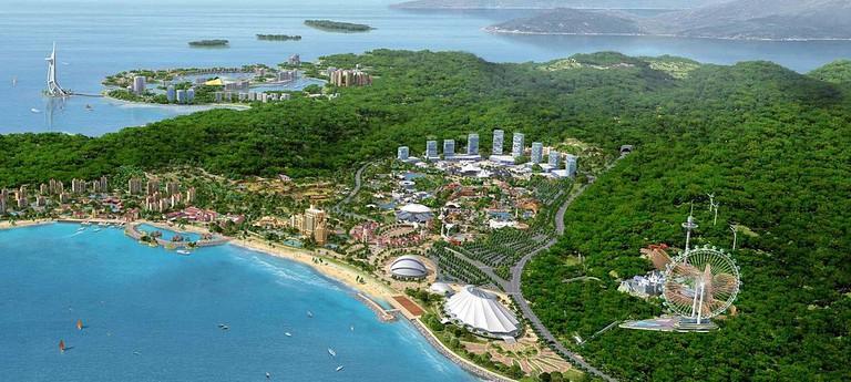 Hengqin island is the largest of Zhuhai's 146 islands.