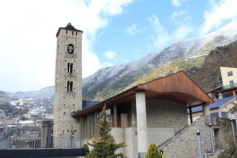 Church of Santa Eulalia, Andorra