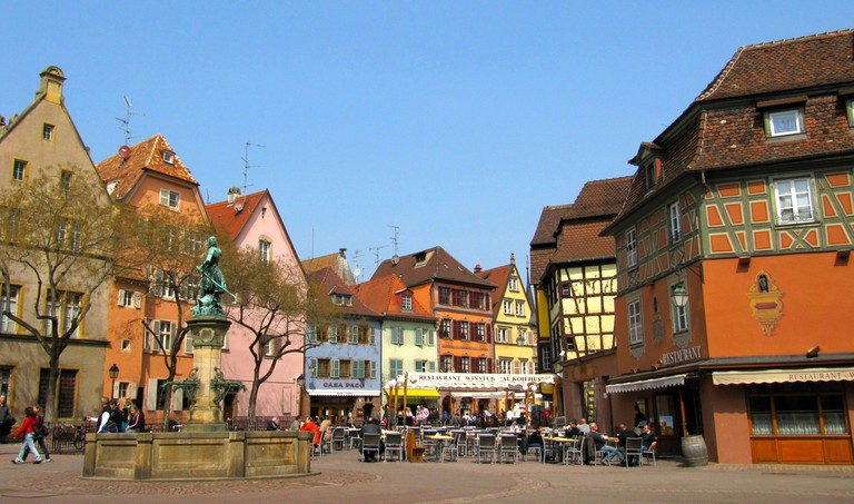 The town of Colmar is a real-life fairy tale.