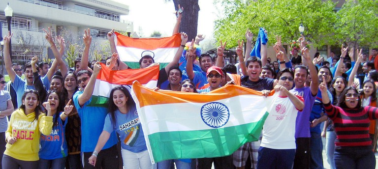 Cricket enthusiasm in India