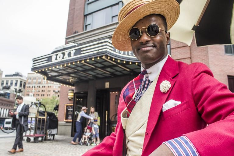 Dandy Wellington at The Roxy Hotel | © Amanda Suarez/Culture Trip